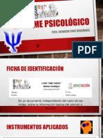 Informe Psicológico