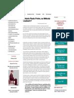 Método Paulo Freire, ou Método Laubach .pdf