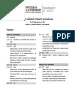 Programa Congreso Filosofía UAH