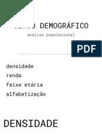URB2 - CENSO POPULACIONAL