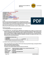 Application Form for CSWIP 5 Year Renewal (Overseas) No Logbook
