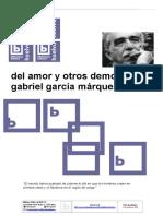 Del Amor y Otros Demonios Garcia Marquez