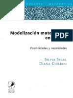 Modelización Matemática en El Aula - Silvia Segal