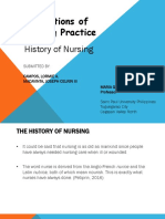 History of Nursing (Part 1)