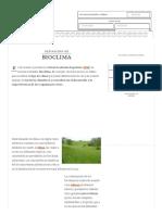 Definición de Bioclima - Qué Es, Significado y Concepto