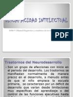 Discapacidad Intelectual Dsm-V