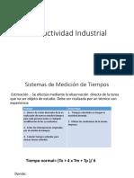 Productividad Industrial