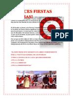 Las Fiestas Patrias Peruanas son las celebraciones por la Independencia del Perú después del dominio de España.docx