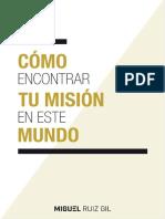 eBook Como Encontrar Tu Mision en El Mundo