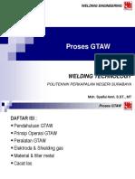 6. Proses GTAW