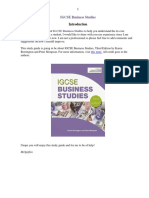 Business Studies Notes for IGCSE