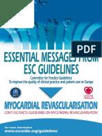 Essential Messages Myocardial Revasc