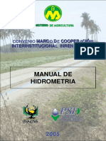 Manual de Hidrometria