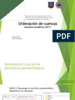 Procesos Secuencia de Cuencas SIG 2017-i