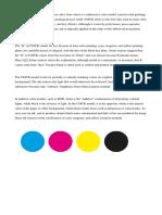 The CMYK Color Model