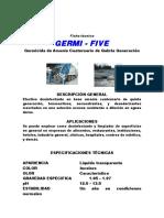 Ficha Tecn. Germi-Five Germicida
