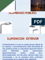 Iluminacion de Vias Publicas 2012