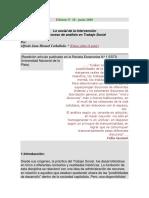 Lo social de la Intervención Trabajo Social Carballeda.docx