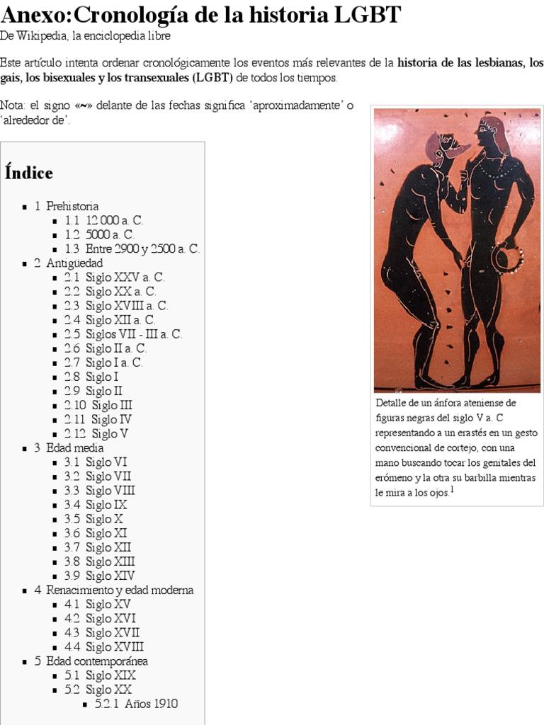 Anexo:Cronología de la historia LGBT - Wikipedia, la enciclopedia libre