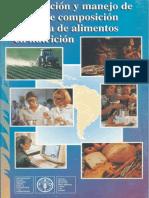 PRODUCCION Y MANEJO DE DATOS DE COMPOSICION QUIMICA DE ALIMENTOS EN NUTRICION.pdf