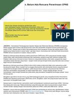 Menpan.go.Id-Pemerintah Tegaskan Belum Ada Rencana Penerimaan CPNS 2016