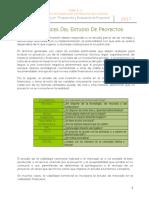 2.2 Alcances Del Estudio de Proyectos