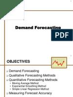 10. Demand Forecasting