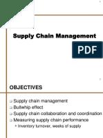 13. Supply Chain Management