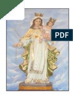 Dibujo Virgen de Las Mercedes