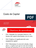 Cap 9 Costo de Capital Junio 2016