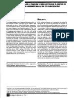 Estimacion de Modelos de Funcion de Producción en El Cultivo de Algodon
