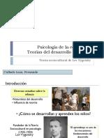 Teoria Sociocultural Vigotsky