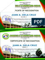 Certificate With Honors 2017