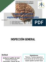 Inspección General y Exploración Pares Craneales