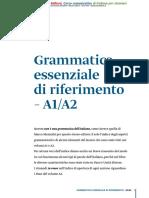 Grammatica Essenziale Di Riferimento A1-A2