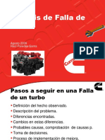 Analisis de Falla de Turbo
