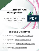 NIOSH SHO 07-Risk Assessment