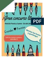 Concurso Literario 2017 Afiche
