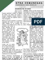Hoja Parroquial Nº 1   15agosto2010