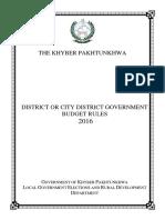 Budget Rules 2016 KPK