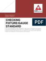ABC Group Checking and Gauge Standard 80-STD-D-01