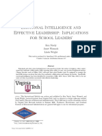 Emotional Intelligence and Effective Leadership Implications for School Leaders 2