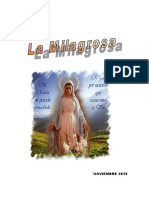 La Milagrosa 2015.