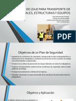 PLAN DE IZAJE PARA TRANSPORTE DE MATERIALES,.pptx