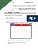 Tutorial Lesson Activity Toolkit - Activities