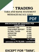 Mark Taguba Emt Trading Tara Payoff