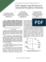 Classification of EEG Signals Using MLP