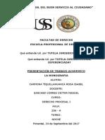 Carmona Tiquillahuanca Rosa, Monografia