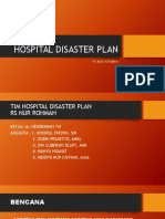 pelatihan HOSPITAL DISASTER PLAN .pptx