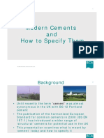 Modern Cements and How to Specify Them - March 2005